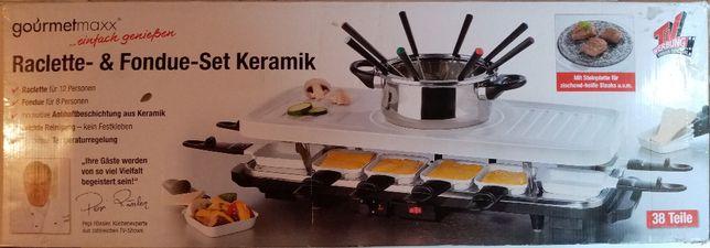Zestaw grillowy do raclette i fondue - grill
