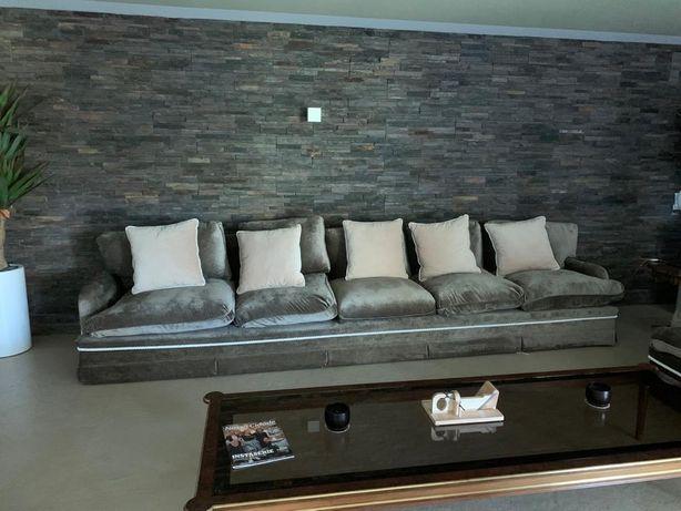 Conjunto de sofás de 5+2 lugares
