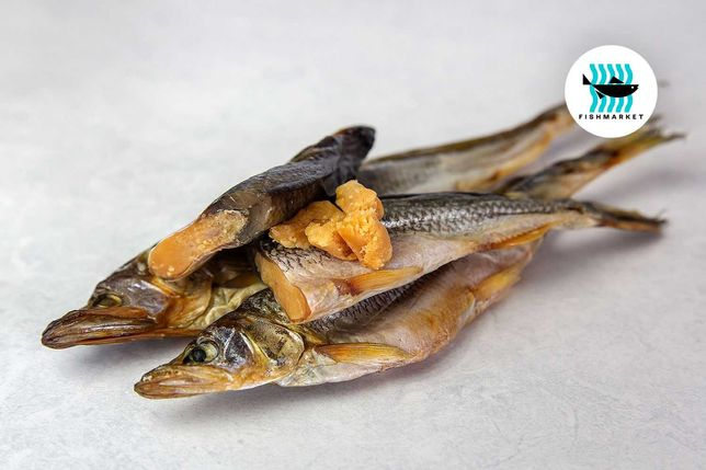 Корюшка вяленая, икряная   Вяленая рыба от Fishmarket.UA