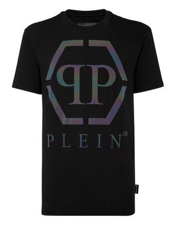 Philipp Plein t-shirt Round Neck SS Hexagon oryginal roz.Xl