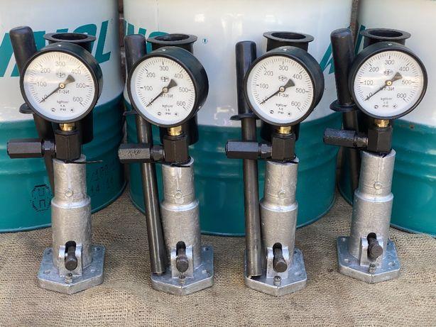Стенд для проверки и регулировки дизельных форсунок с переходником