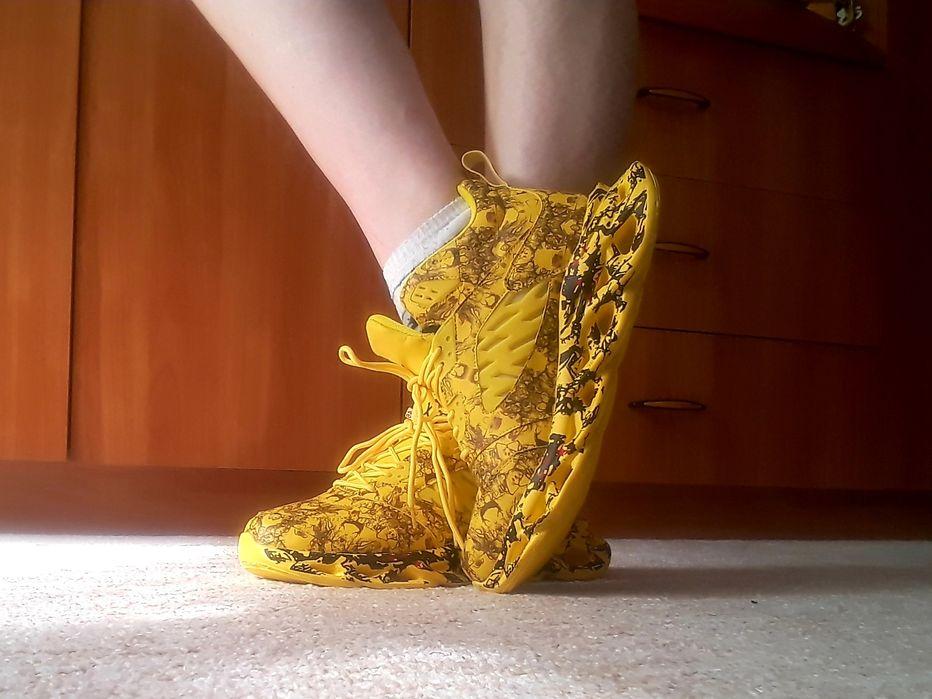 Новые кроссовки, жёлтые Черкассы - изображение 1