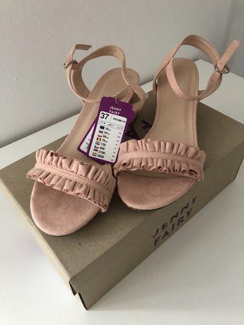 Sandałki na słupku Jenny Fairy