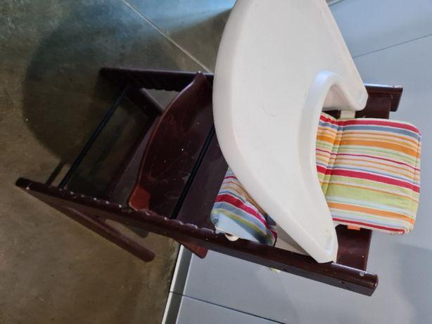 Tripp Trap - STOKKE - zestaw Newborn: nakładka - stolik, pokrowiec