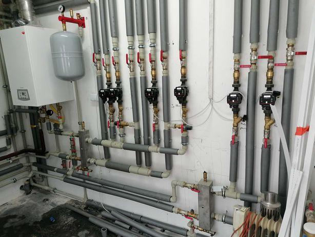 Hydraulik, usługi hydrauliczne, pełen zakres robót