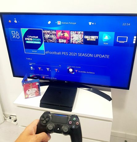 PlayStation 4 Slim [1TB] ( pode escolher 1 jogo )