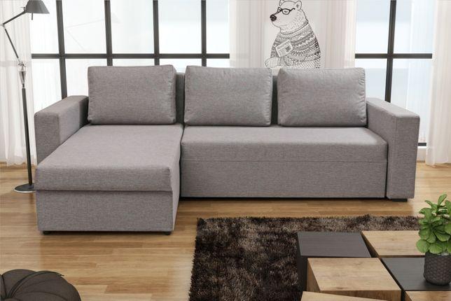 Narożnik COMO opcja BONEL rozkładany funkcja SPANIA łóżko ROGÓWKA sofa