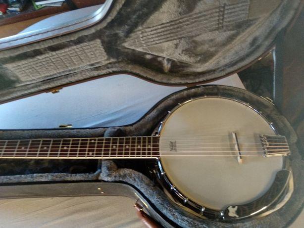 Banjo de 6 cordas Fender Rustler com estojo Epiphone
