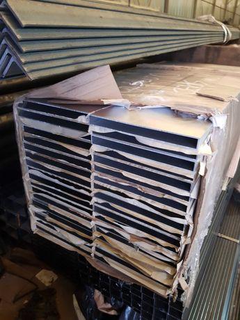 Profil prostokątny aluminiowy ALU 120x20x1,7mm