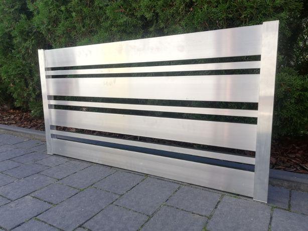 PANELE ALUMINIOWE PRZĘSŁO płot profil panel aluminiowy WYSOKI