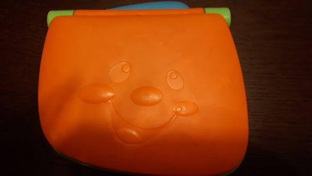Laptop edukacyjny zabawka Fisher Price używany