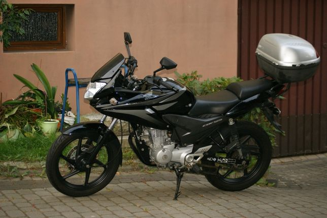 Honda CBF125,Ybr 125,wtrysk.