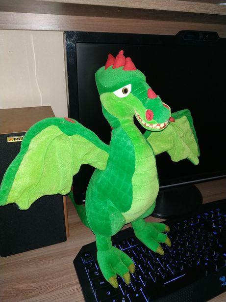 Мягкая игрушка дракон 40см.