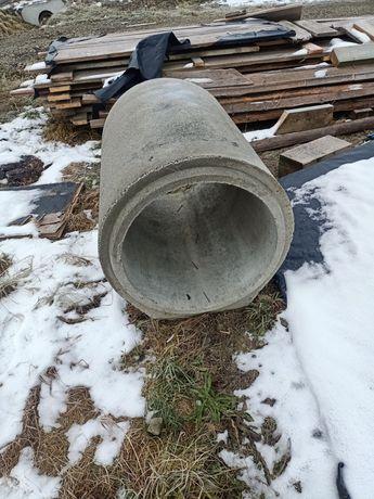 Przepust drogowy. Kominek betonowy 60cm
