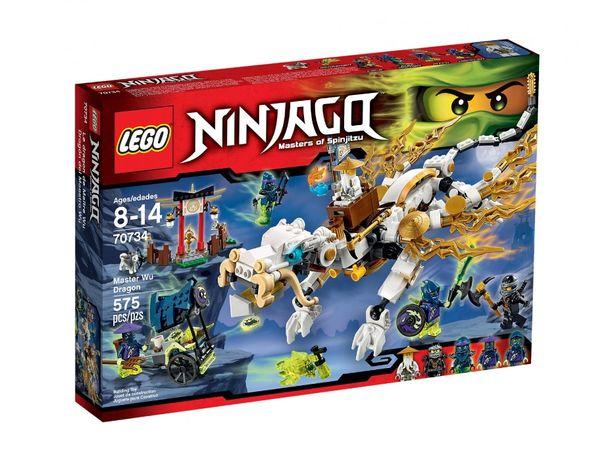 Lego 70734 Ninjago Smok Mistrza Wu Nowy