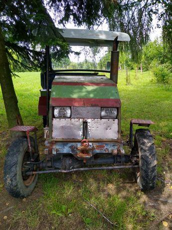 traktor sam + przyczepa sam