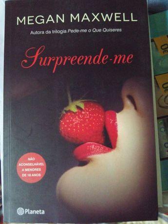 Surpreende-me livro erotico