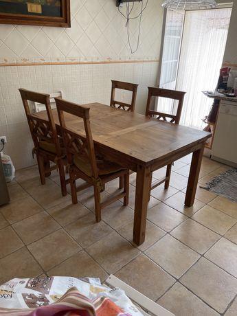 Mesa de madeira mexicana