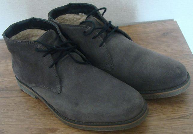 Черевики (ботинки) шкіряні утеплені Pier One. Розмір 43 (28 см)