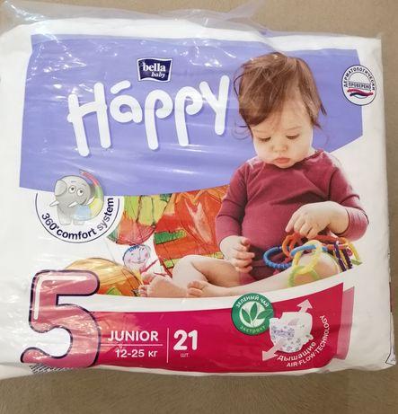 Подгузники Happy Bella 5 Junior, 21 шт