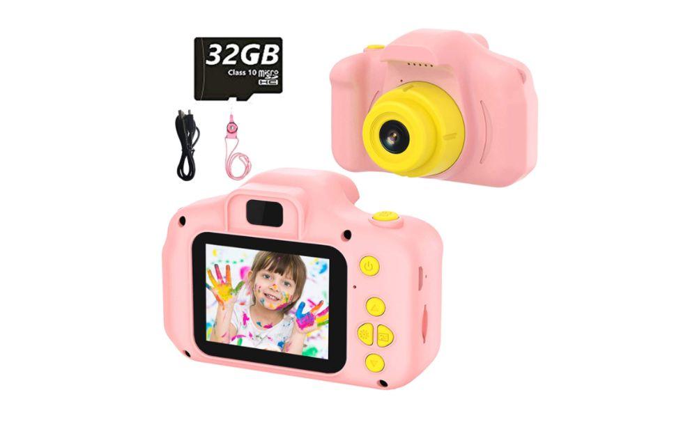 Máquina fotográfica / Câmara Crianças Digital Brinquedo 32Gb HD 1080P