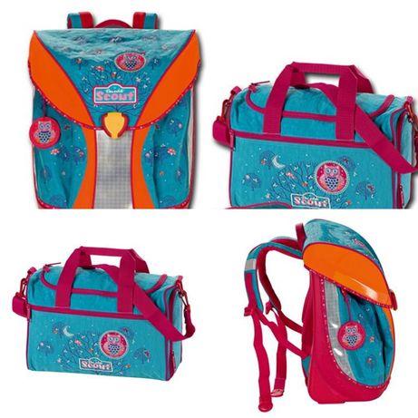 Школьный рюкзак и спортивная сумка SCOUT. Германия
