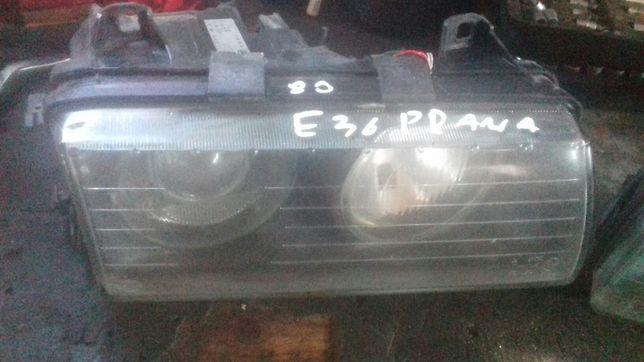 Lampa przednia prawa BMW E36