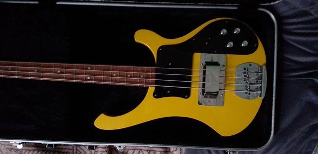 Lutnicza kopia Rickenbacker gitara basowa bass wymiana
