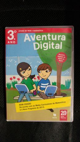 Livro aventura digital. 3°ano Matemática