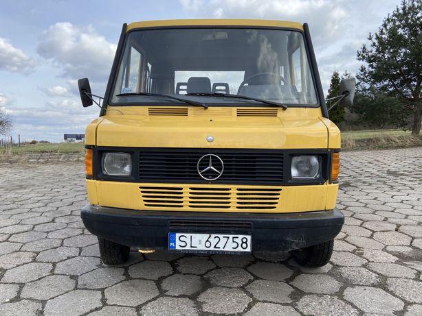 Mercedes kaczka WYWROTKA 3 strony aluminiowe burty DOKA kabina