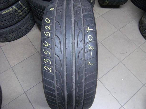 235/45/20 Dunlop SP Sport Maxx / Pirelli P Zero pojedynka