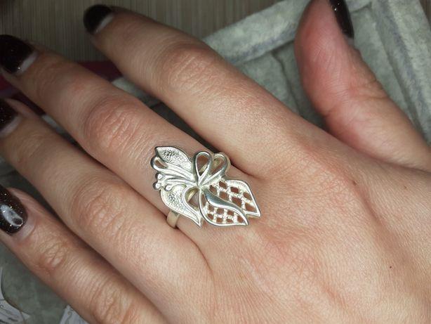 Кольцо серебро винтаж 16.5 р