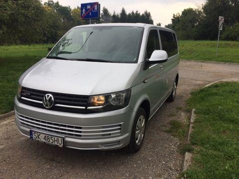 Volkswagen Transporter T6 9-osobowy Salon PL FV 23% REZERWACJA