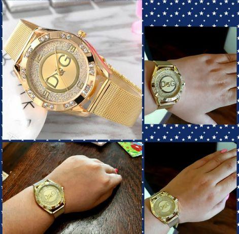 Piękne złote zegarki dolce Gabbana! Idealne na prezent! WYSYŁKA 1 zł!