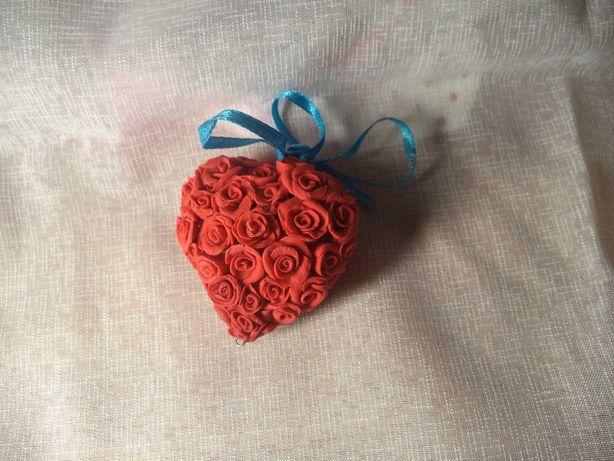 Сердце Декор цветы шоколадница ваза подарок