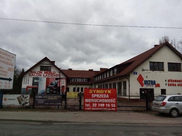 Działka zabudowana budynkiem handlowo-produkcyjnym przy Mareckiej 92
