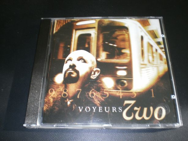 "Two ""Voyeurs""( Halford Judas Priest ) CD Germany"