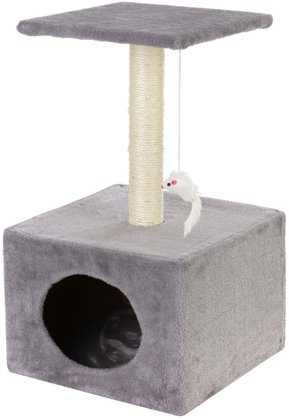 Drapak, legowisko dla kota z budką 3 poziomy