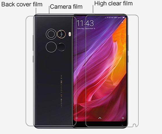 Nillkin Xiaomi Mi Mix 2: Пленка Комплект: экран камера крышка