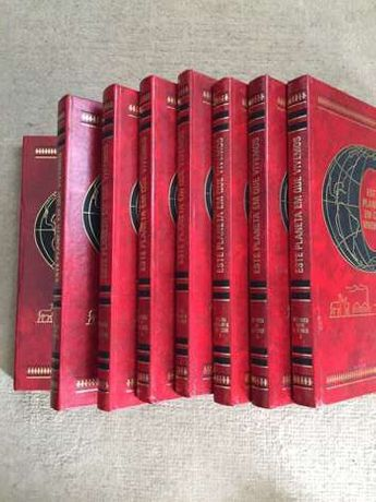 coleção de livros - este planeta em que vivemos - 8x livros