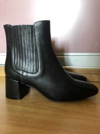 демисезонные  кожаные ботинки Zign Испания