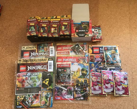 Lego ninjago, nexo knights, friends
