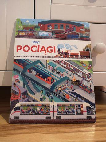 Książka o pociągach pociągi