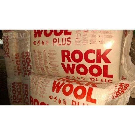 Вата Роквул, мінеральна,базальтова вата, рокмін +,ROCKWOOL