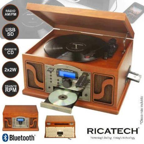 Gira Discos RICATECH RMC250 Music Center USB / SD CARD