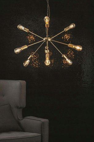 Nowoczesna złota lampa wisząca ROD 9 żarówek E27 Nowodvorski 9130