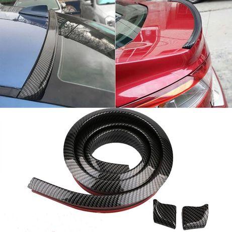 Лип спойлер универсальный резиновый на багажник или крышу авто. Акция!