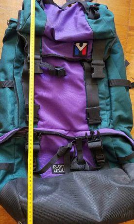 Оригинал Millet зеленый рюкзак объем 60litres, тверд спинка и тв. пояс
