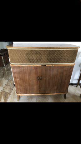 Stare radio lampowe tandberg huldra 5 1951r sprawne