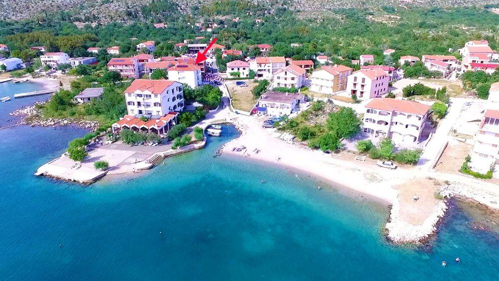 Chorwacja noclegi nad morzem apartamenty z widokiem na morze